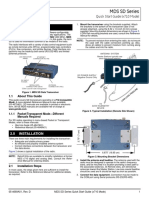 4669D-SD2-4-9 Quick Start (MS Model)