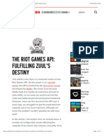 The Riot Games API- Goals and Design | Riot Games Engineering copy