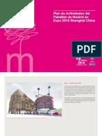 Pabellón de Madrid Expo 2010 Shanghái - Plan de Actividades