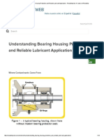 Understanding Bearing Housing Protection and Reliable Lubricant Application