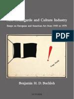 Benjamin Buchloh_Neoavantgarde and Culture Industry_livro Completo