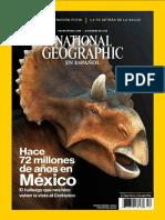 NatGeo en Español Diciembre 2016 Dinosaurios de Mexico