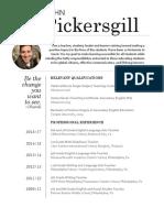 pickersgill resume 2016