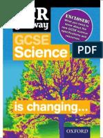 OCR Gateway GCSE Science Information Flyer