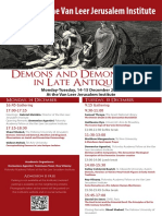 Demons and Demonology in Late Antiquity