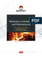 Refractory Installation and Maintenance - F.S. Sperry