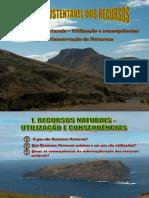 1.1 - Gestão Sustentável Dos Recursos