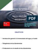Teóricos 5 y 6 Medio Interno 1 y 2- Agua y Electrolitos 2016