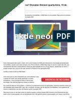 Diolinux.com.Br-KDE Neon - Vale a Pena Dionatan Simioni Quarta-feira 15 de Março de 2017