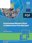 International Migration Policies in Thailand