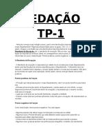Redação TP 1