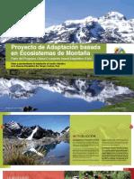 Proyecto de Adaptación Al CC Basada en Ecosistemas de Montaña Perú