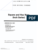ASME B18.2.2-1987 Square and Hex Nuts