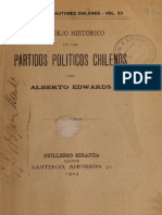 Bosquejo Historico de Los Partidos Politicos en Chile