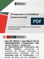 Presupuesto y Contabilidad Gubernamental