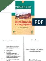 Gerard Taylor - Introduccion a la lengua general. Quechua - Sin fecha.pdf