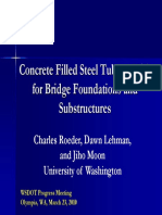 Concrete Filled Steel Tubes