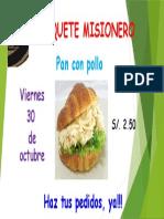 Banquete Misionero 2015
