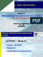 CEG461 - Week 3-i - CHAPTER 1C - Soil Classification