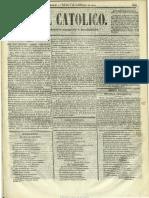 El Católico (Madrid). 1-11-1854