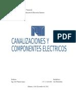 Canalizaciones y Componentes Electricos