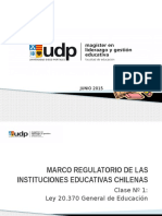 Marco Regulatorio Actualizado 2015. Ppt Clase 1. A
