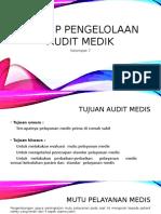 Prinsip Pengelolaan Audit Medik