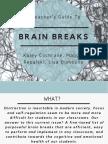 brain breaks presentation