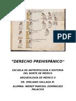 Derecho Prehispánico Mexicano