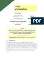 Concepto, Características,Orientaciones y Clasificaciones Del Deporte Actual