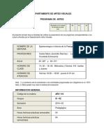 Programa Epistemologia 201402