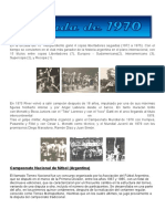 Futbol Argentino Decada Del 70