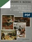 Bloom, Benjamín - Características humanas y aprendizaje escolar.pdf
