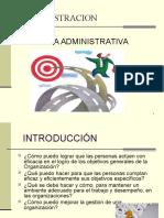 Unidad i Teoría Administrativa