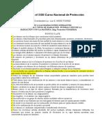 Cuestionario Protección Radiologica