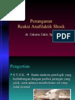 Penanganan Reaksi Anafilaktik Shock 26 Des 14 (1)