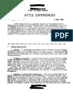 Battle Experiences #4