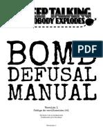 Bomb Defusal Manual en Español