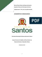 Diagnóstico Consolidado Revisão Plano Diretor Santos