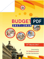 Budget speech - 2017-18