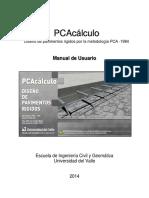 PCAcalculo Manual de Usuario - Enero 2015