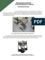 Guia de Estudio de La Materia de Procesos de Fundicion Unidad i