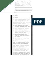 Install Notes