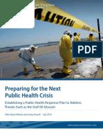 Preparing for the Next Public Health Crisis