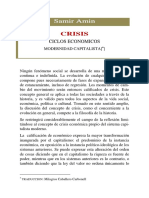 Crisis Ciclos Economicos Modernidad Capitalista