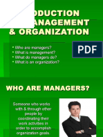 1-Introduction to Management & Organization