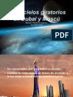 Rascacielos Giratorios en Dubai y Moscu