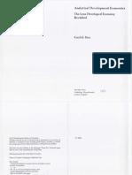 Basu TheLessDevelopedEconomy Ch7 1997