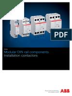 Modular DIN rail Components