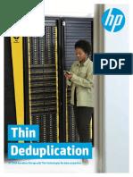 3PAR Thin Deduplication Brochure